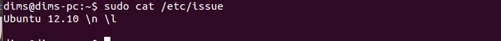 Текущая версия дистрибутива Ubuntu