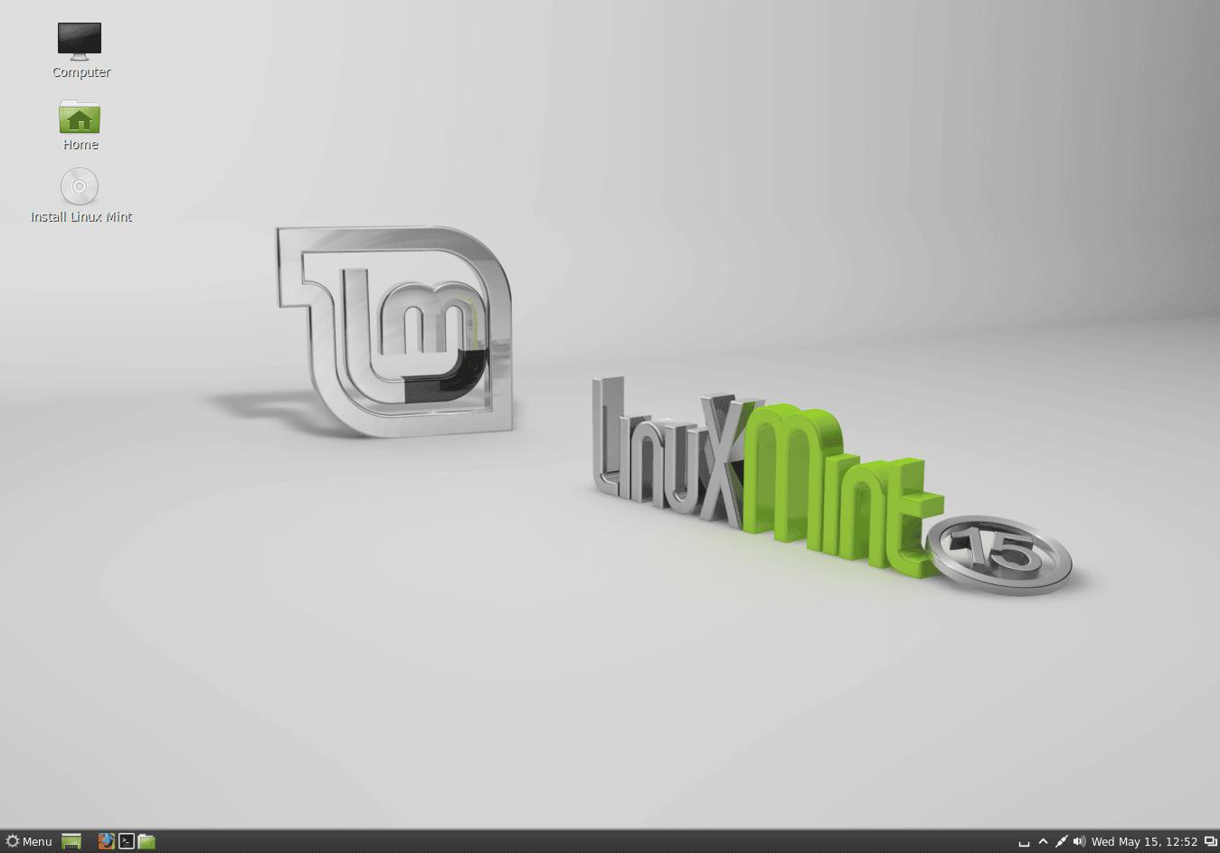 Linux mint 15 Olivia
