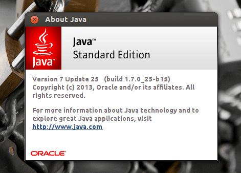 Обновление Oracle Java 7 Ubuntu