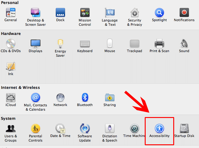 Отключение тачпада при подключении мыши на Mac