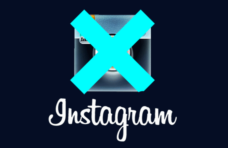 Как уничтожить аккаунт Instagram