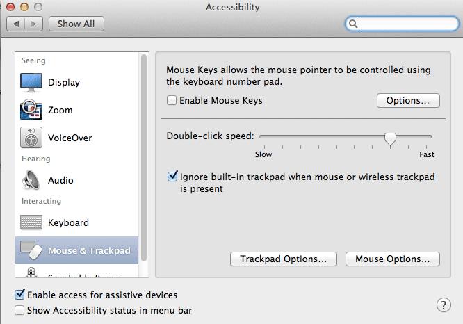 как отключить тачпад при подключении мыши