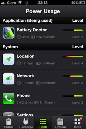 быстро садится батарея на iPhone 5 iOS 7