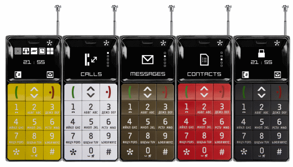 Бабушкофон JUST5 Brick Alcatel One Touch 113