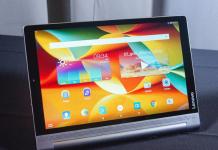 Обзор Lenovo Yoga Tablet 3 - долгоиграющий планшет