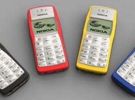 Nokia 1100 стал самым популярным телефоном десятилетия