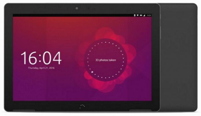 Планшет под управлением Ubuntu Touch поступит в продажу в РФ